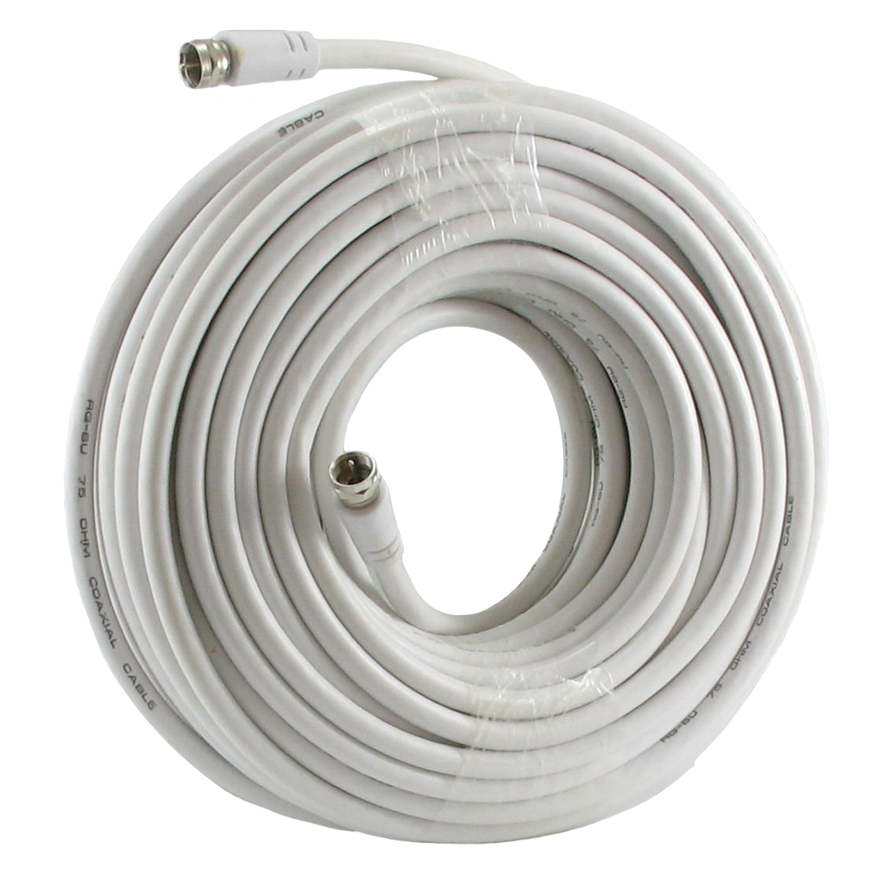 75 FT / RG-6U COAX CABLE TV/HD/SATELLITE F-TYPE